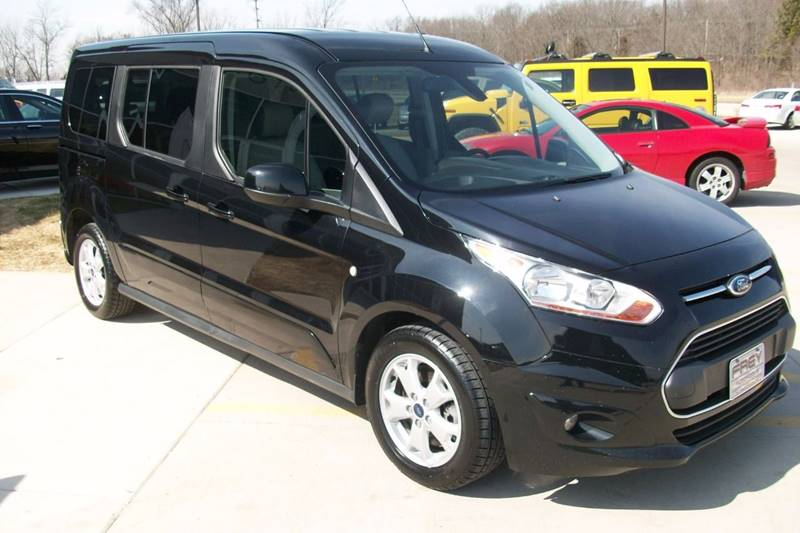 2015 Ford Transit Connect Wagon Titanium 4dr LWB Mini-Van w/Rear Liftgate - Muskego WI
