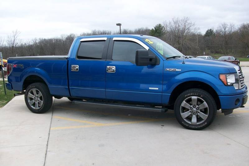2012 Ford F-150 4x4 XLT 4dr SuperCrew Styleside 6.5 ft. SB - Muskego WI
