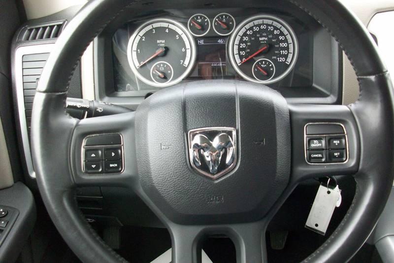 2012 RAM Ram Pickup 1500 4x4 Big Horn 4dr Quad Cab 6.3 ft. SB Pickup - Muskego WI