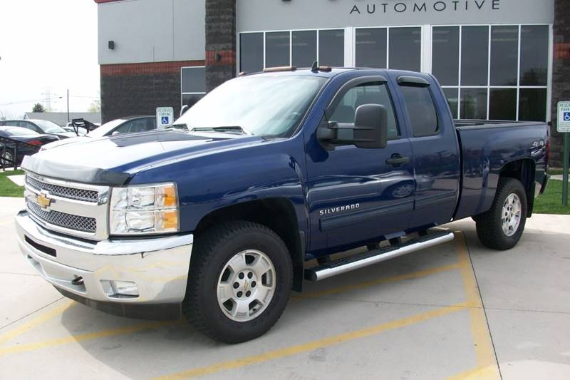 2013 Chevrolet Silverado 1500 4x4 LT 4dr Extended Cab 6.5 ft. SB - Muskego WI