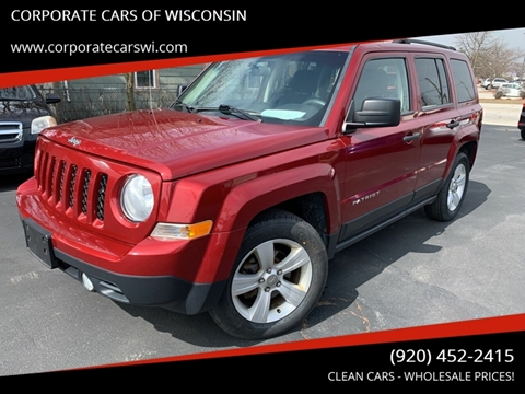 2014 Jeep Patriot for sale at CORPORATE CARS OF WISCONSIN - DAVES AUTO SALES OF SHEBOYGAN in Sheboygan WI