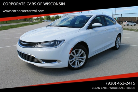 Cars For Sale In Wisconsin >> Cars For Sale In Sheboygan Wi Corporate Cars Of Wisconsin