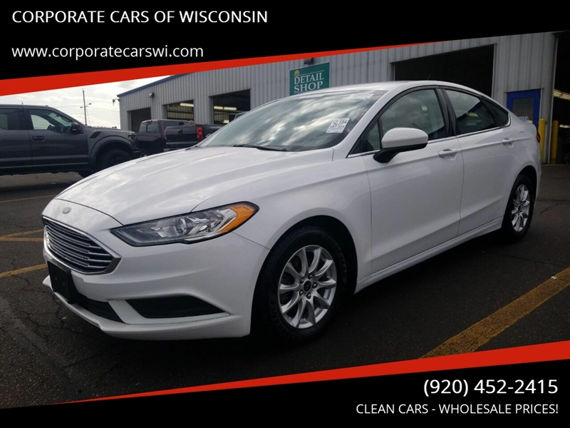 2017 Ford Fusion for sale at CORPORATE CARS OF WISCONSIN in Sheboygan WI