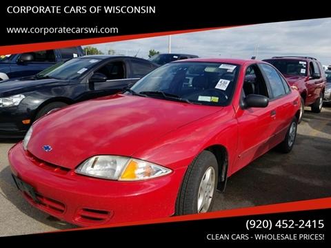 2002 Chevrolet Cavalier for sale in Sheboygan, WI