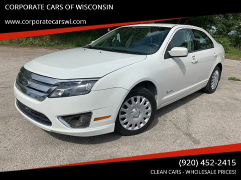 2012 Ford Fusion Hybrid for sale in Sheboygan, WI