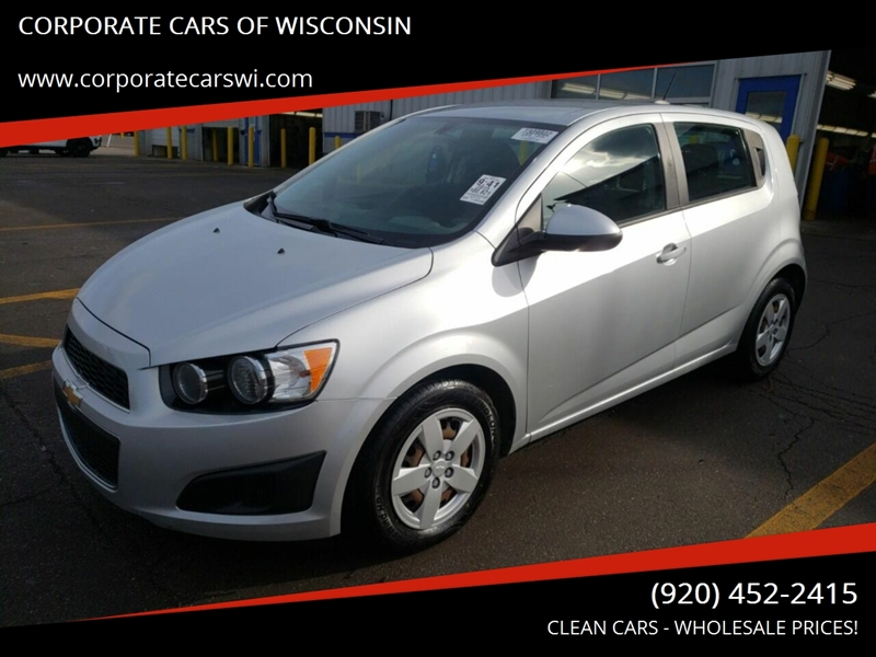 2015 Chevrolet Sonic for sale at CORPORATE CARS OF WISCONSIN - DAVES AUTO SALES OF SHEBOYGAN in Sheboygan WI