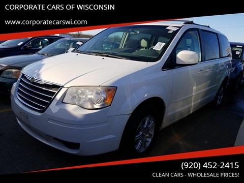 2008 Chrysler Town and Country for sale at CORPORATE CARS OF WISCONSIN - DAVES AUTO SALES OF SHEBOYGAN in Sheboygan WI