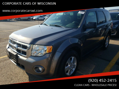 2012 Ford Escape for sale at CORPORATE CARS OF WISCONSIN - DAVES AUTO SALES OF SHEBOYGAN in Sheboygan WI