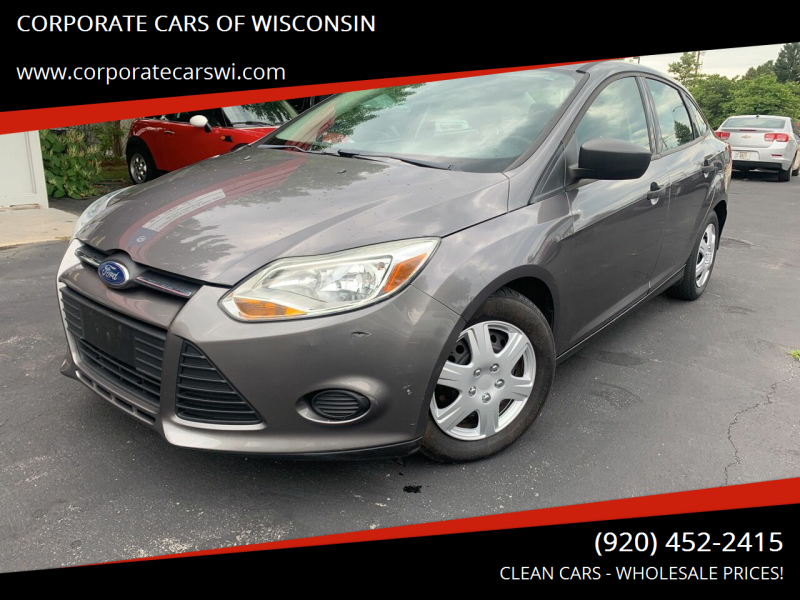 2012 Ford Focus for sale at CORPORATE CARS OF WISCONSIN - DAVES AUTO SALES OF SHEBOYGAN in Sheboygan WI