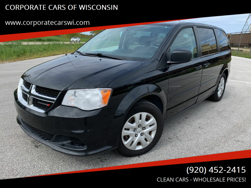 2016 Dodge Grand Caravan for sale at CORPORATE CARS OF WISCONSIN in Sheboygan WI