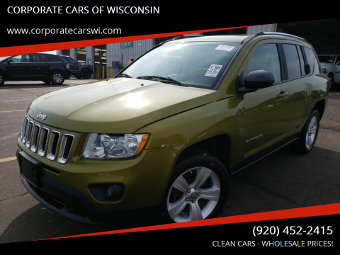 2012 Jeep Compass for sale at CORPORATE CARS OF WISCONSIN - DAVES AUTO SALES OF SHEBOYGAN in Sheboygan WI