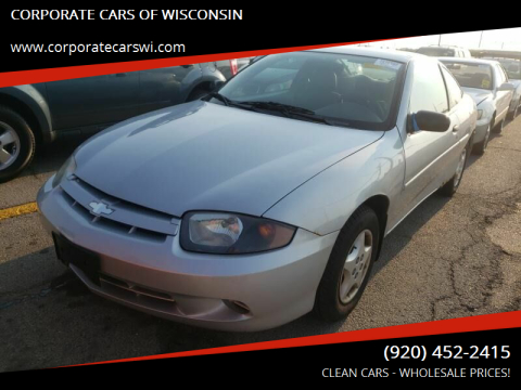 2005 Chevrolet Cavalier for sale at CORPORATE CARS OF WISCONSIN - DAVES AUTO SALES OF SHEBOYGAN in Sheboygan WI