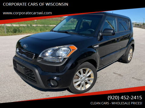 2013 Kia Soul for sale at CORPORATE CARS OF WISCONSIN - DAVES AUTO SALES OF SHEBOYGAN in Sheboygan WI