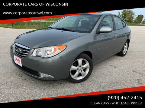 2010 Hyundai Elantra for sale at CORPORATE CARS OF WISCONSIN - DAVES AUTO SALES OF SHEBOYGAN in Sheboygan WI