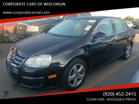 2008 Volkswagen Jetta for sale at CORPORATE CARS OF WISCONSIN - DAVES AUTO SALES OF SHEBOYGAN in Sheboygan WI
