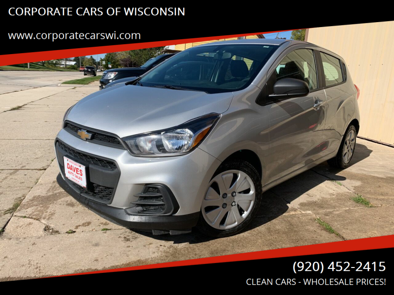 2017 Chevrolet Spark for sale at CORPORATE CARS OF WISCONSIN - DAVES AUTO SALES OF SHEBOYGAN in Sheboygan WI