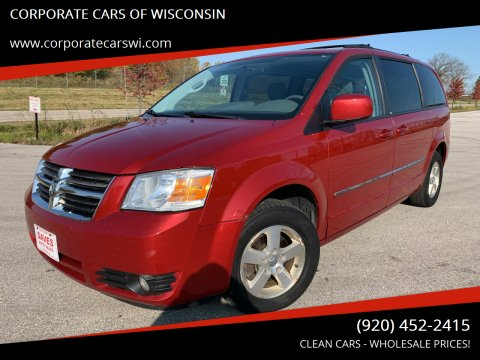 2009 Dodge Grand Caravan for sale at CORPORATE CARS OF WISCONSIN - DAVES AUTO SALES OF SHEBOYGAN in Sheboygan WI