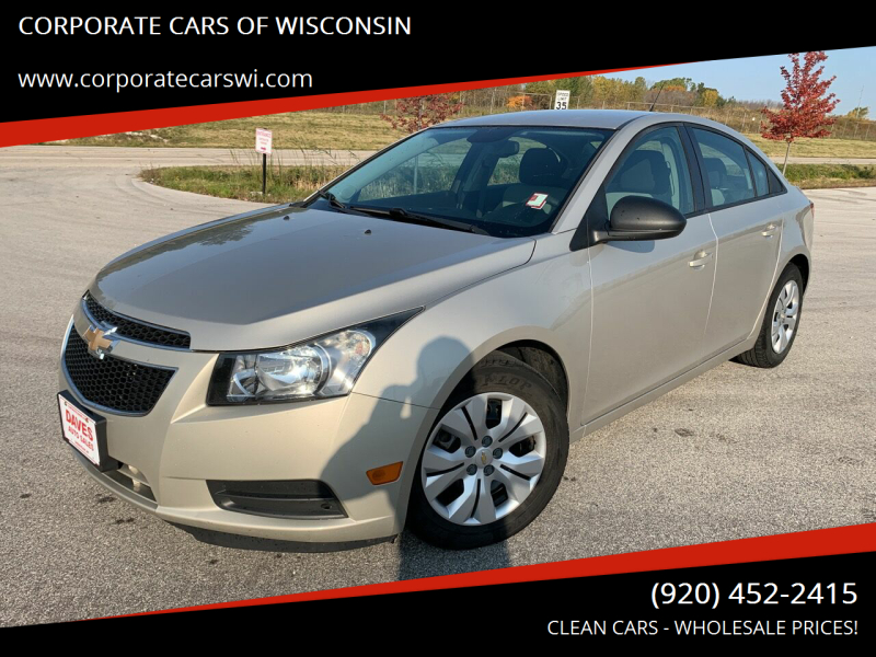 2013 Chevrolet Cruze for sale at CORPORATE CARS OF WISCONSIN - DAVES AUTO SALES OF SHEBOYGAN in Sheboygan WI