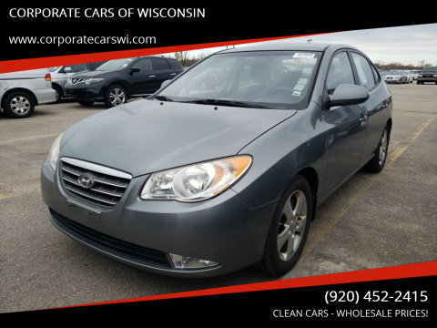 2009 Hyundai Elantra for sale at CORPORATE CARS OF WISCONSIN - DAVES AUTO SALES OF SHEBOYGAN in Sheboygan WI