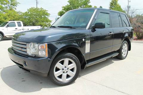 2003 Land Rover Range Rover for sale at CORPORATE CARS OF WISCONSIN in Sheboygan WI