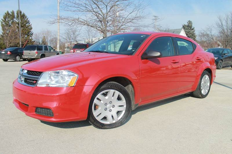 2013 Dodge Avenger for sale at CORPORATE CARS OF WISCONSIN in Sheboygan WI