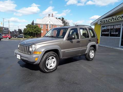 Used Jeep Liberty For Sale >> Jeep Liberty For Sale In Alliance Oh Sarchione Inc