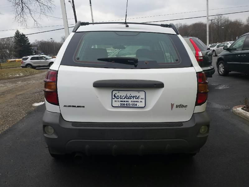 2003 Pontiac Vibe AWD 4dr Wagon - Alliance OH
