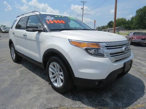 2014 Ford Explorer for sale at Affordable Auto Center in Joplin MO