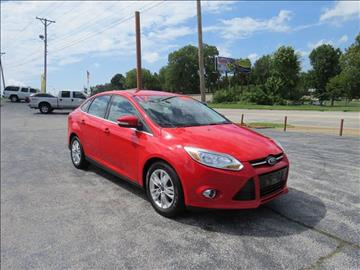 2012 Ford Focus for sale at Affordable Auto Center in Joplin MO