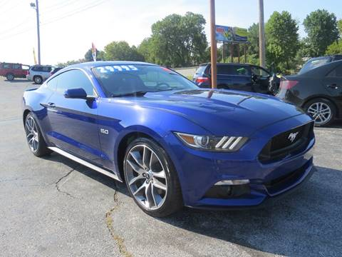 2016 Ford Mustang for sale at Affordable Auto Center in Joplin MO