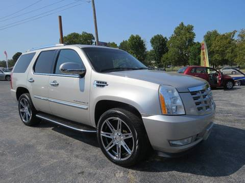 2008 Cadillac Escalade for sale at Affordable Auto Center in Joplin MO