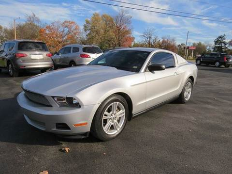 2010 Ford Mustang for sale at Affordable Auto Center in Joplin MO