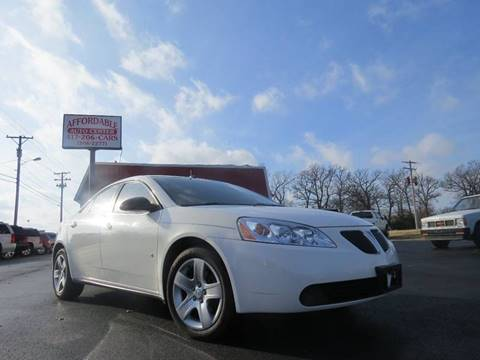 2008 Pontiac G6 for sale at Affordable Auto Center in Joplin MO
