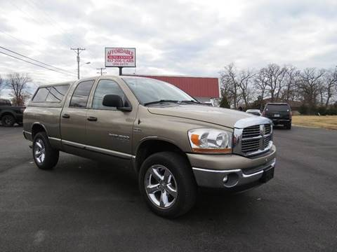 2006 Dodge Ram Pickup 1500 for sale at Affordable Auto Center in Joplin MO
