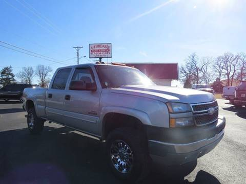 2005 Chevrolet Silverado 2500HD for sale at Affordable Auto Center in Joplin MO