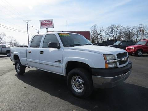 2004 Chevrolet Silverado 2500HD for sale at Affordable Auto Center in Joplin MO