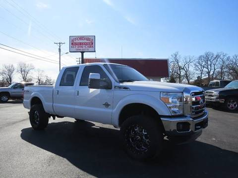 2011 Ford F-250 Super Duty for sale at Affordable Auto Center in Joplin MO