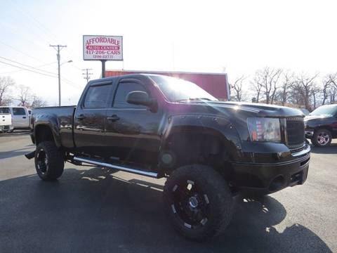 2007 GMC Sierra 2500HD for sale at Affordable Auto Center in Joplin MO