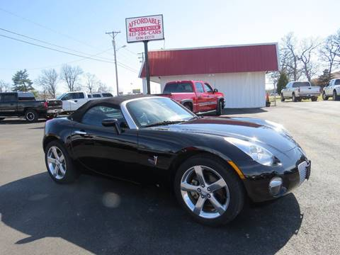 2007 Pontiac Solstice for sale at Affordable Auto Center in Joplin MO