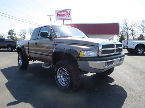 2001 Dodge Ram Pickup 2500 for sale at Affordable Auto Center in Joplin MO