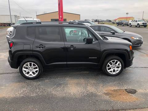 2017 Jeep Renegade for sale at MIDTOWN MOTORS in Union City TN