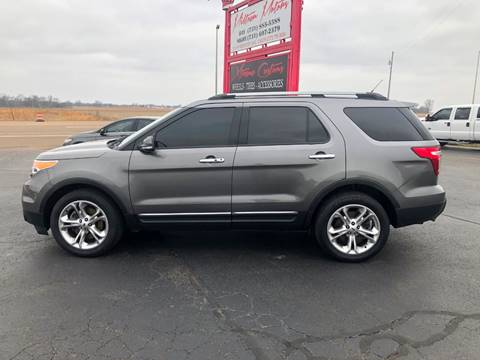2014 Ford Explorer for sale at MIDTOWN MOTORS in Union City TN