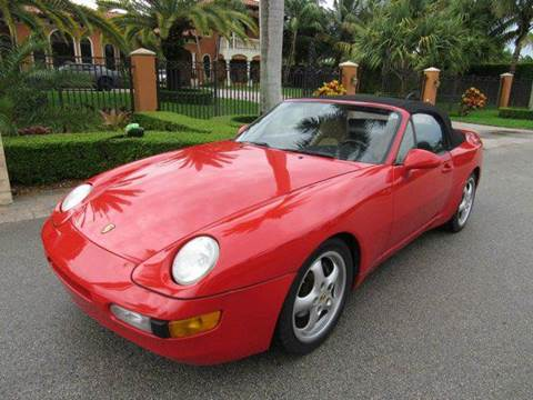 1992 Porsche 968 for sale in Hialeah Gardens, FL