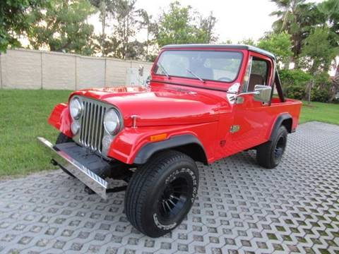 1981 Jeep Scrambler for sale in Hialeah Gardens, FL