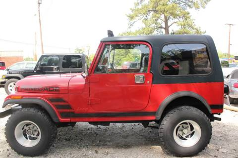 1986 Jeep CJ-7 for sale in Phenix City, AL