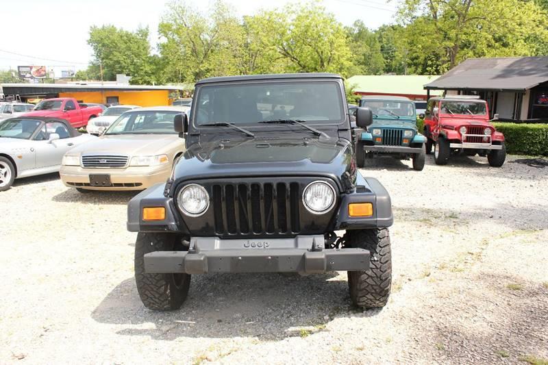 2004 Jeep Wrangler 2dr Rubicon 4wd Suv In Phenix City Al