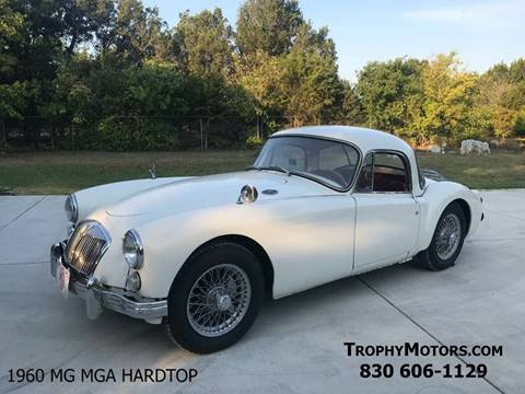 1960 MG MGA for sale in New Braunfels, TX