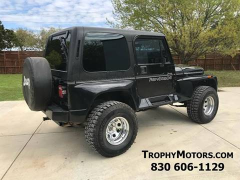 1993 Jeep Wrangler for sale in New Braunfels, TX