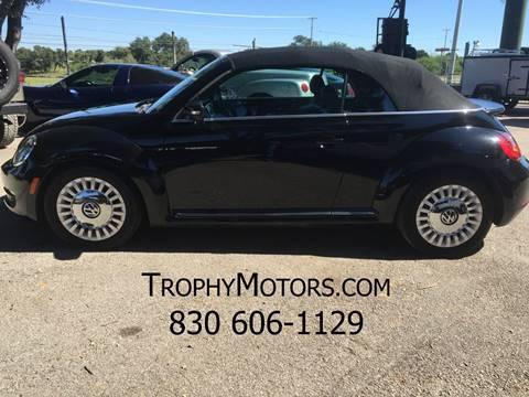 2015 Volkswagen Beetle for sale in New Braunfels, TX