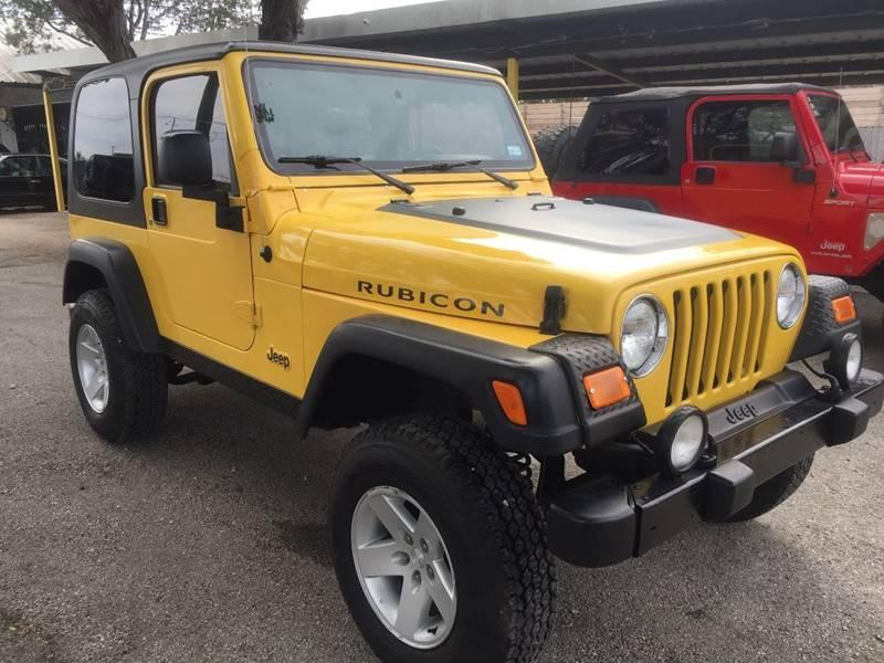2004 jeep wrangler 2dr rubicon 4wd suv in new braunfels tx for Trophy motors new braunfels